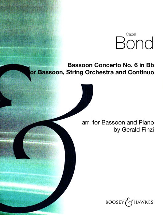 Concerto no.6 in Bb by Bond for Bassoon published by Boosey and Hawkes