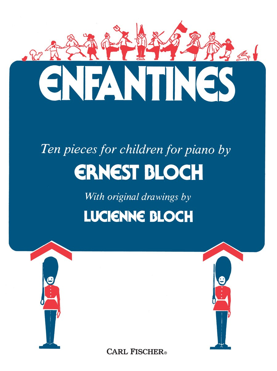 Bloch: Enfantines for Piano published by Carl Fischer