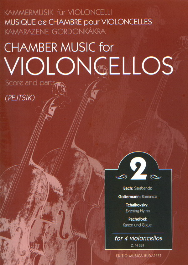 Chamber Music for Cellos Volume 2 published by EMB