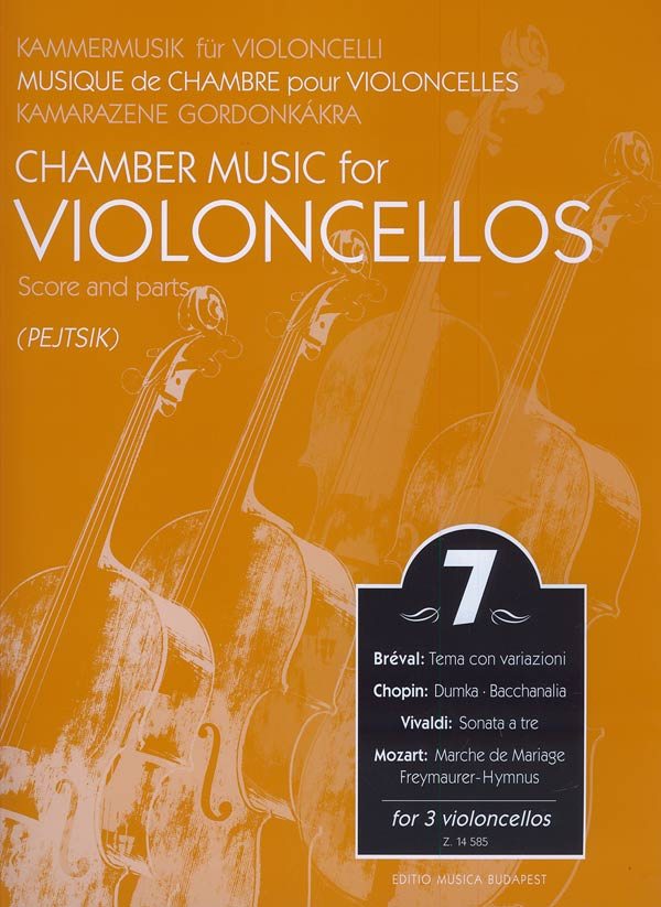 Chamber Music for Cellos Volume 7 published by EMB