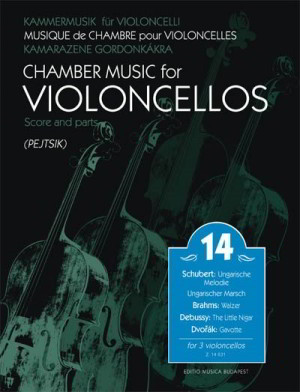 Chamber Music for Cellos Volume 14 published by EMB