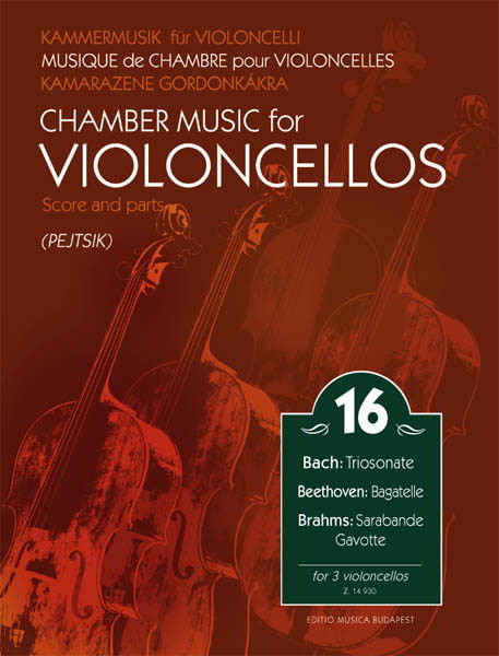 Chamber Music for Cellos Volume 16 published by EMB
