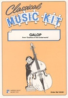 Classical Music Kit - Galop from Orpheus in the Underworls for Flexible Ensemble published by Middle Eight