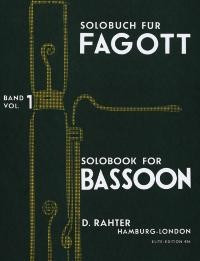 Solobook for Bassoon Volume 1 published by Simrock