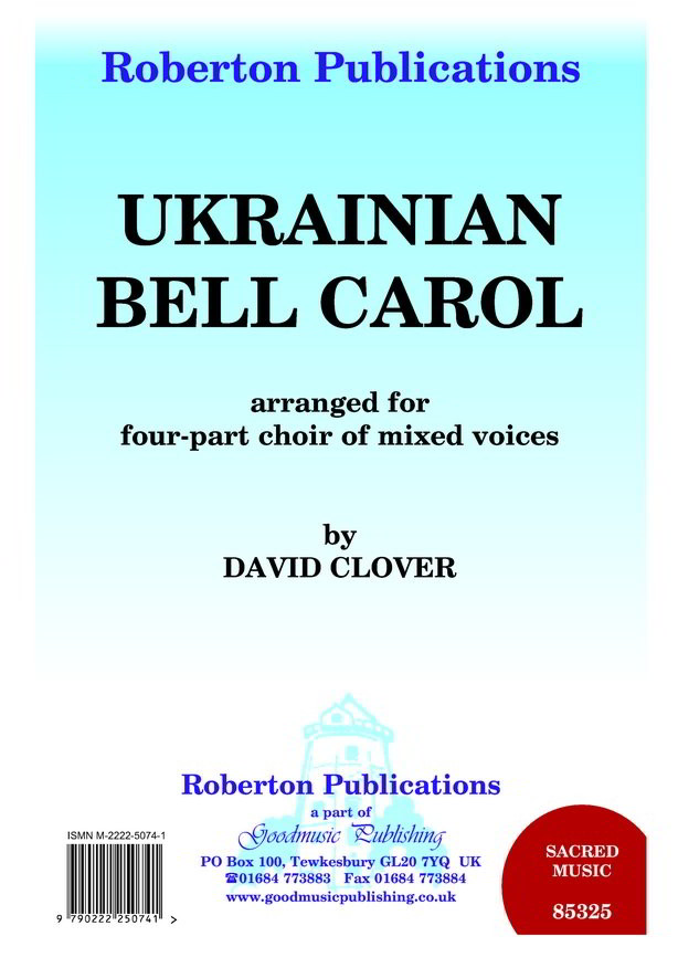 Clover: Ukrainian Bell Carol SATB published by Goodmusic