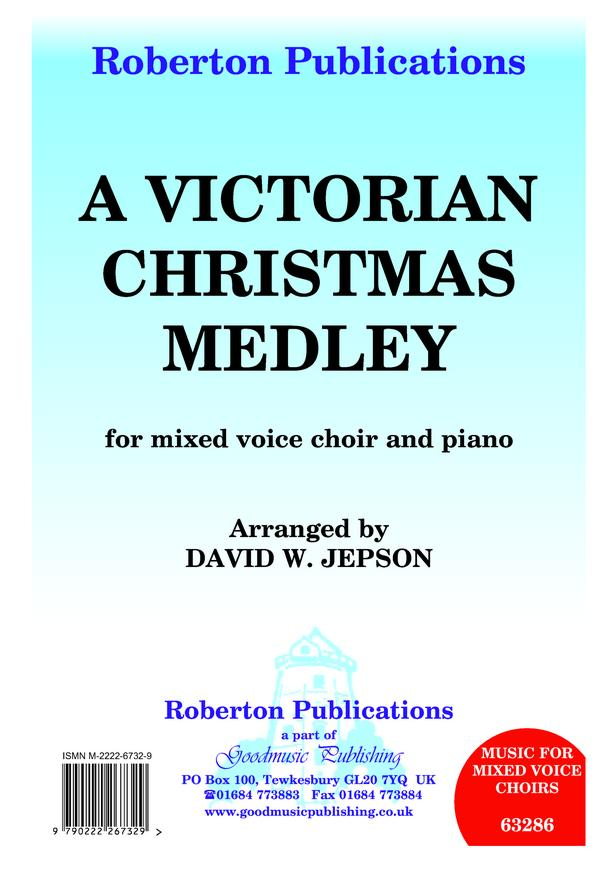 Jepson: Victorian Christmas Medley SATB published by Goodmusic