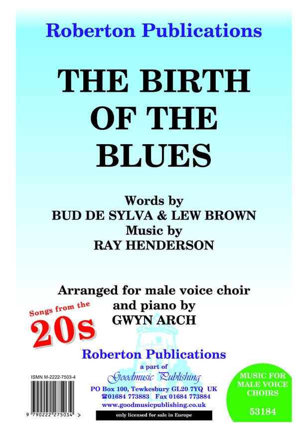 Birth Of The Blues TTBB by Henderson published by Roberton