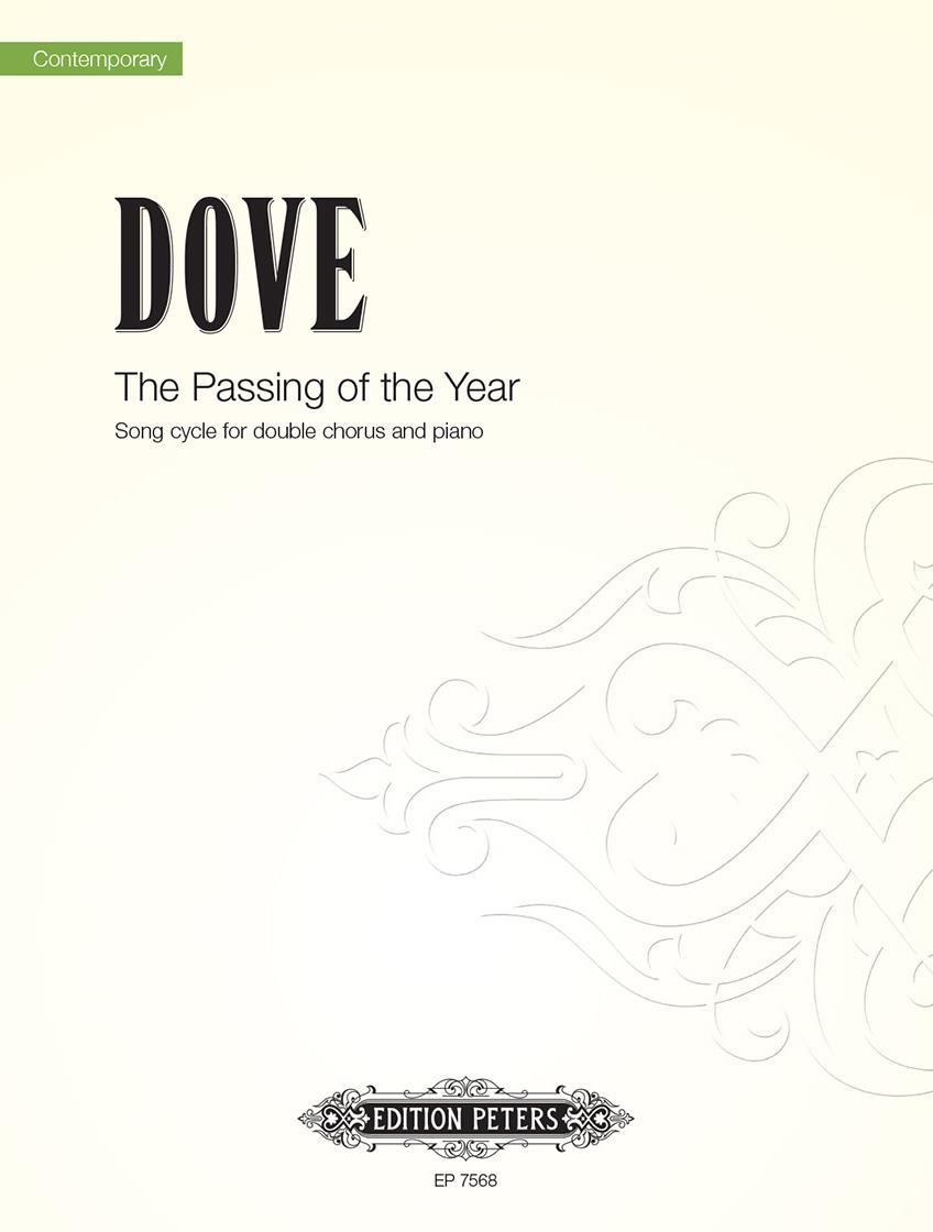 Dove: Passing of the Year published by Peters - Vocal Score