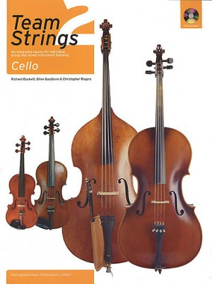 Team Strings 2 Book & CD for Cello published by IMP