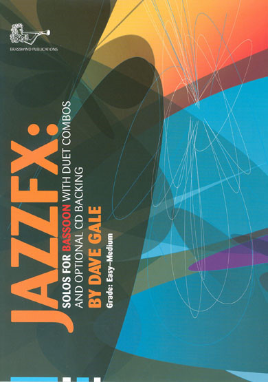 Jazz FX Book & CD for Bassoon published by Brasswind
