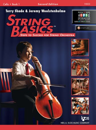 String Basics Book 1 for Cello published by KJOS