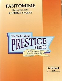 Sparke: Pantomime (Euphonium Solo) Prestige Concert Band Set published by Studio Music
