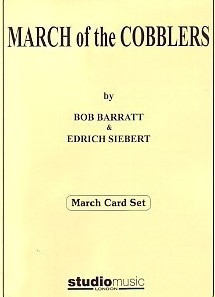 March of the Cobblers (March Card Set) for Brass Ensemble published by Studio Music