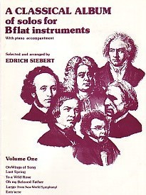 A Classical Album Volume 1 in Bb published by Studio Music