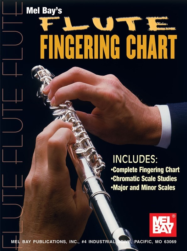 Flute Fingering Chart published by Mel Bay