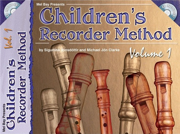 Children's Recorder Method 1 Book & CD published by Melbay