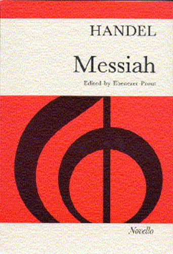 Handel: Messiah published by Novello - Vocal Score