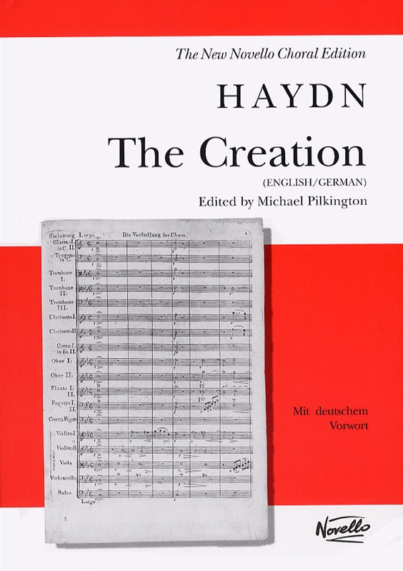 Haydn: The Creation published by Novello - Vocal Score
