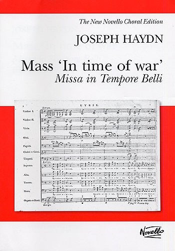 Haydn: Mass In Time Of War published by Novello - Vocal Score