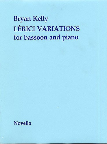 Lerici Variations by Kelly for Bassoon published by Novello