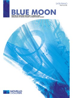 Blue Moon SATB published by Novello