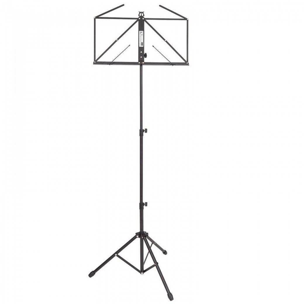 Kinsman Black Music Stand with Carry Case