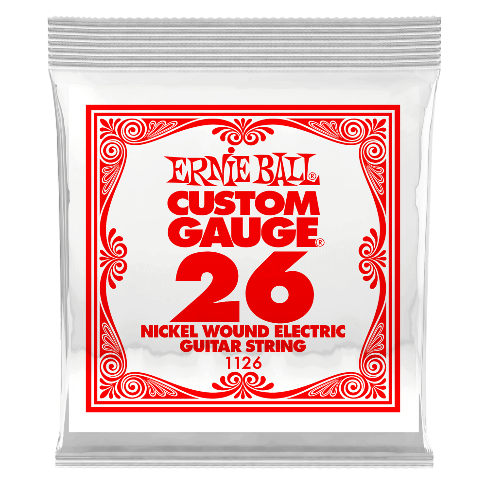 Ernie Ball .026 Nickel Wound Electric Guitar String