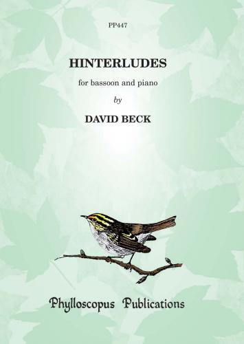 Beck: Hinterludes for Bassoon published by Phylloscopus
