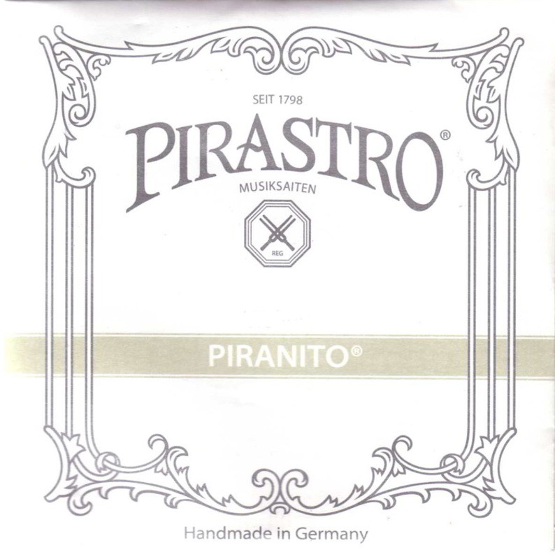 Piranito Violin D String (Chrome) - 1/16 & 1/32 Size