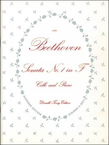 Beethoven: Sonata No. 1 in F Opus 5 for Cello published by Stainer & Bell