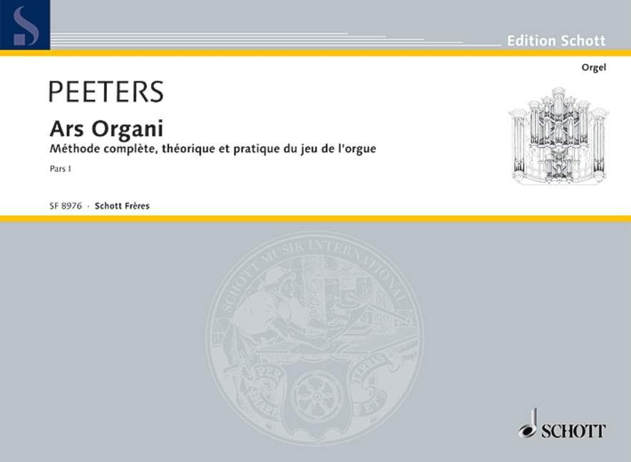 Peeters: Ars Organi Volume 1 published by Schott