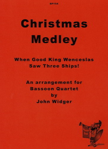 Christmas Medley for Bassoon Quartet published by Spartan Press