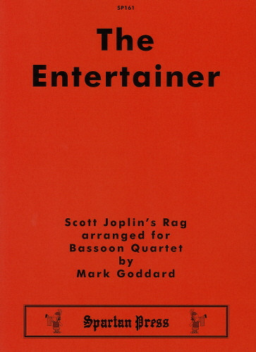 Joplin: The Entertainer for Bassoon Quartet published by Spartan Press