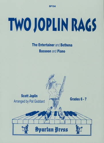 Jopin: 2 Rags for Bassoon published by Spartan Press
