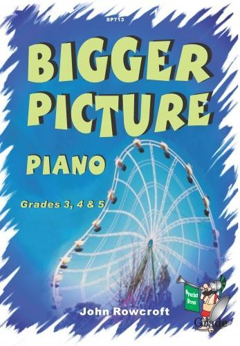 Bigger Picture Piano Grade 4 & 5 by Rowcroft published by Spartan
