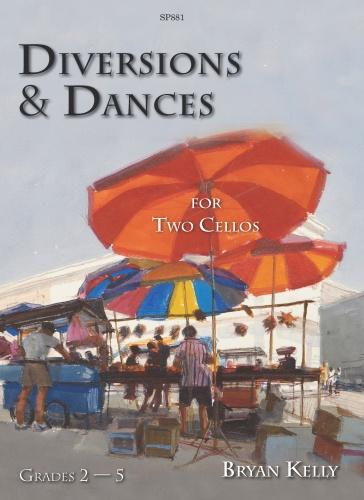Kelly: Diversions and Dances for 2 Cellos published by Spartan