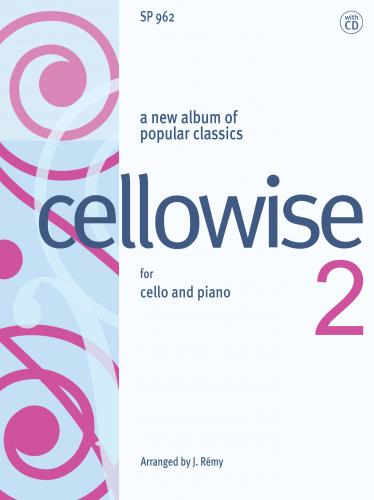 Cellowise 2 Book & CD published by Spartan