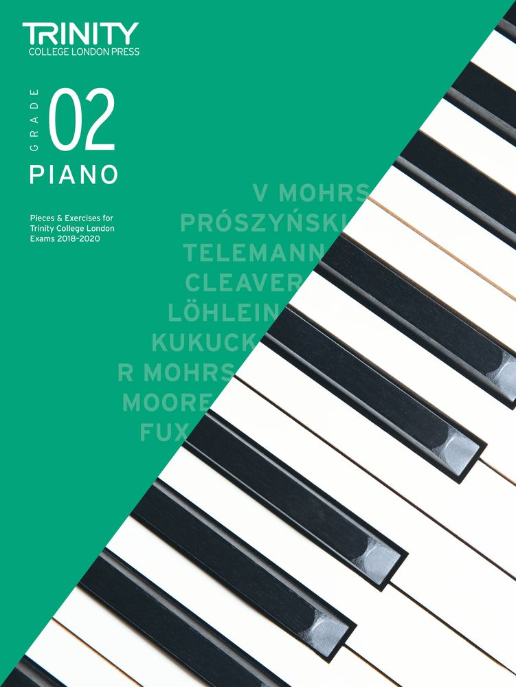 Trinity College London: Piano Exam Pieces & Exercises 2018-2020 - Grade 2 (Book Only)