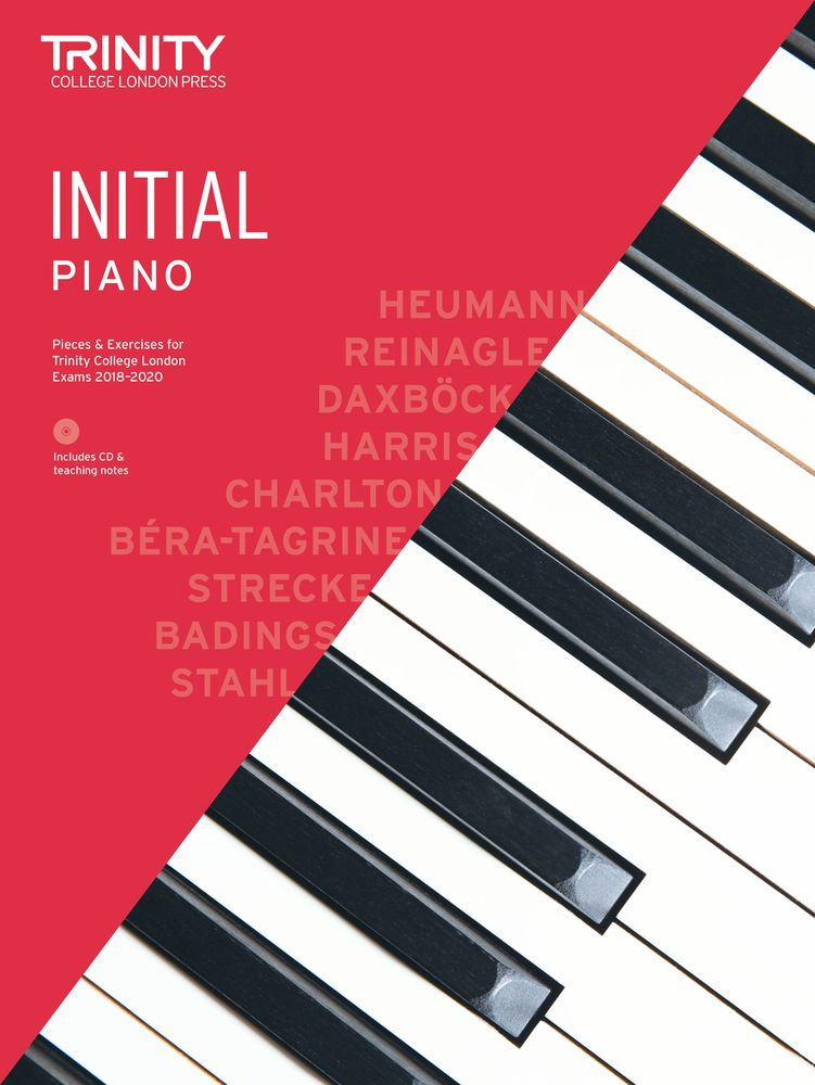 Trinity College London: Piano Exam Pieces & Exercises 2018-2020 - Initial (Book/CD)