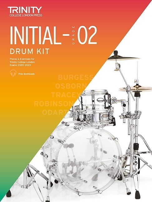 Trinity Drum Kit (Initial to Grade 2) 2020-2023