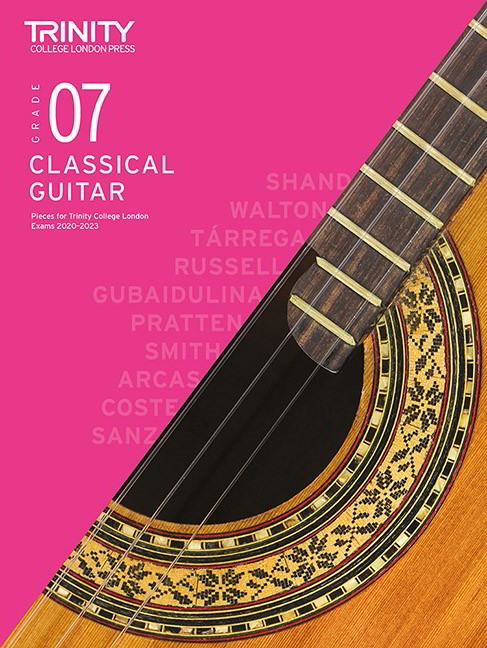 Trinity Grade 7 Classical Guitar Exam Pieces 2020 - 2023