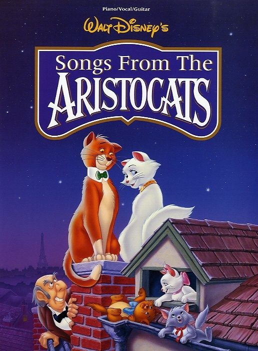 Aristocats Selection PVG published by Hal Leonard