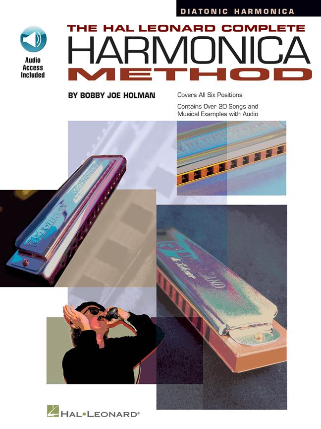 The Complete Harmonica Method: Diatonic published by Hal Leonard (Book/Online Audio)