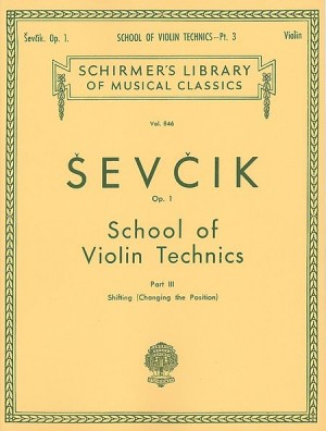 Sevcik: Violin Studies Opus 1 part 3 published by G Schirmer