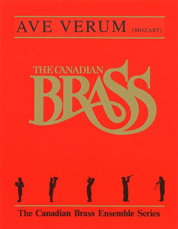 Mozart: Ave Verum for Brass Quintet published by Hal Leonard