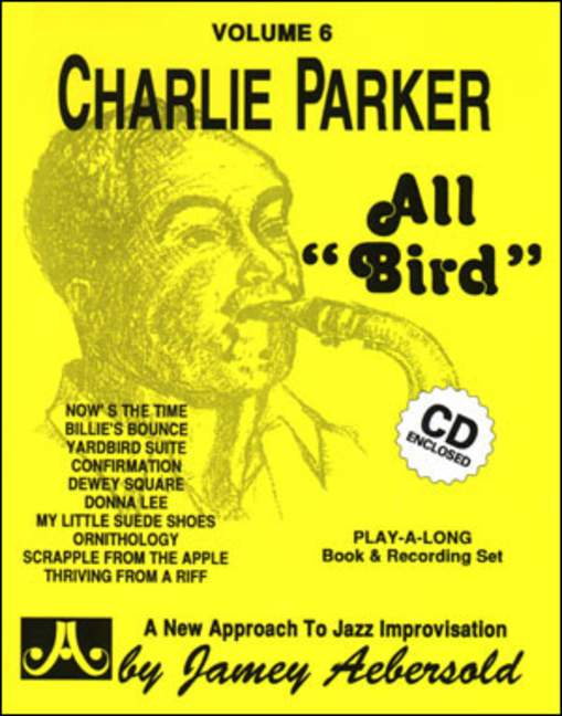 Aebersold 6 Charlie Parker 'All Bird' Book & CD for All Instruments