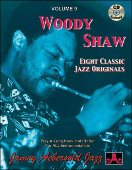 Aebersold 9 Woody Shaw Book & CD for All Instruments