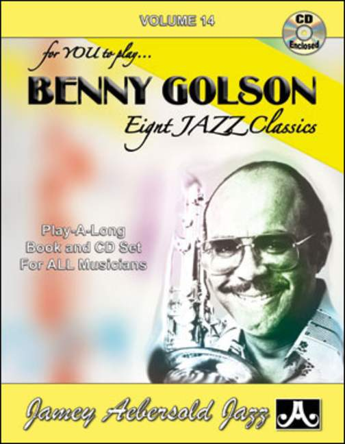 Aebersold 14 Benny Golson Book & CD for All Instruments