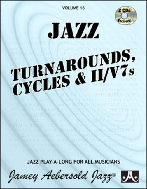 Aebersold 16 Turnarounds Book & CD for All Instruments