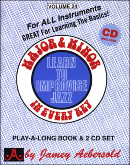 Aebersold 24 Major and Minor Book & CD for All Instruments